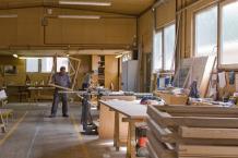 les charpentiers de paris nos ateliers menuiserie agencement. Black Bedroom Furniture Sets. Home Design Ideas